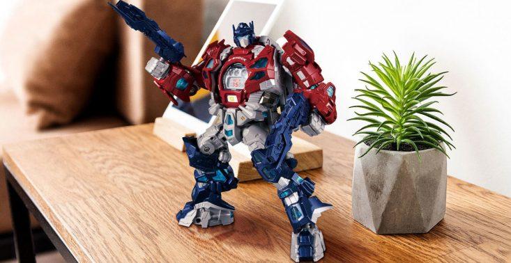 Nowy Casio Transformers G-Shock to tykające serce Autobota Optimusa Prime&#039;a<