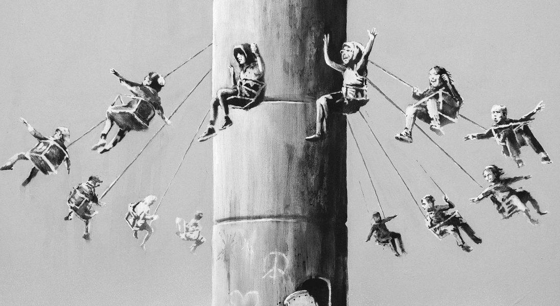 Banksy rozdaje limitowaną serię grafik i udostępnia ją za darmo w sieci