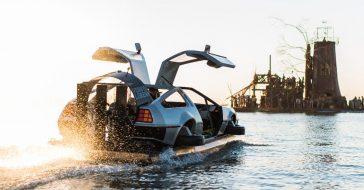 Podróż tym modelem DeLorean Hovercraft to prawdziwy powrót do przyszłości