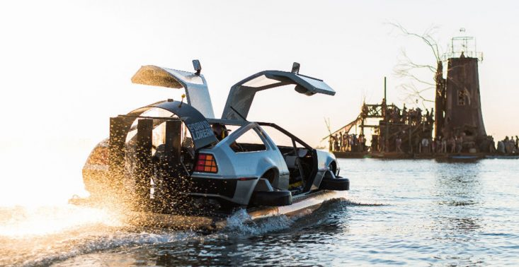 Podr&oacute;ż tym modelem DeLorean Hovercraft to prawdziwy powr&oacute;t do przyszłości<