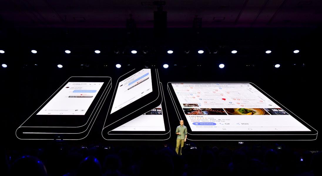 Telefon i tablet w jednym? Samsung zaprezentował smartfona z elastycznym ekranem