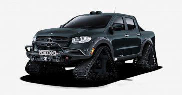 Auto nie do pokonania, czyli pickup Mercedes-Benz X-Class zamieniony w czołg