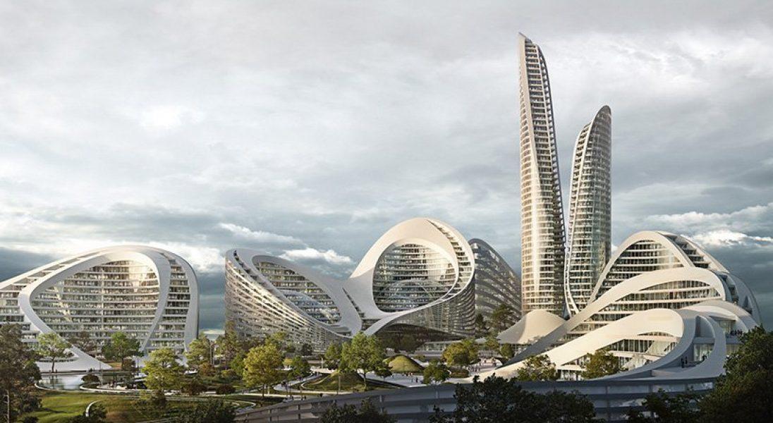 Studio Zaha Hadid Architects zaprojektuje zupełnie nowe, inteligentne miasto w Rosji