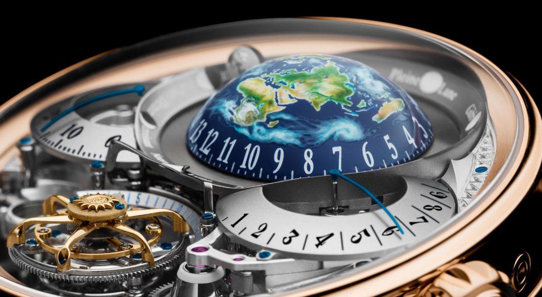 """(Nie)ziemski zegarek marki Bovet dostał """"zegarkowego Oscara"""""""