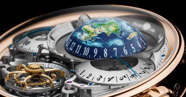 (Nie)ziemski zegarek marki Bovet dostał zegarkowego Oscara