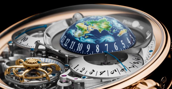 (Nie)ziemski zegarek marki Bovet dostał &quot;zegarkowego Oscara&quot;<