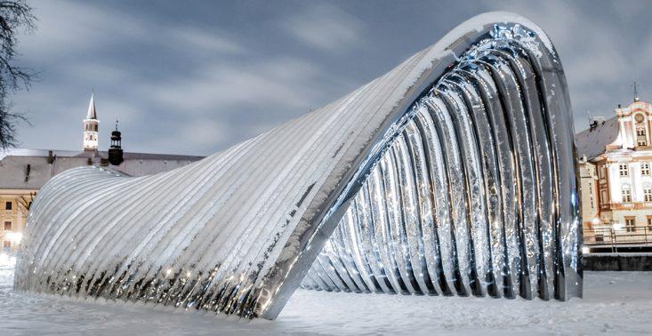 Wrocławska rzeźba w zestawieniu 10 najlepszych instalacji architektonicznych 2018 roku<