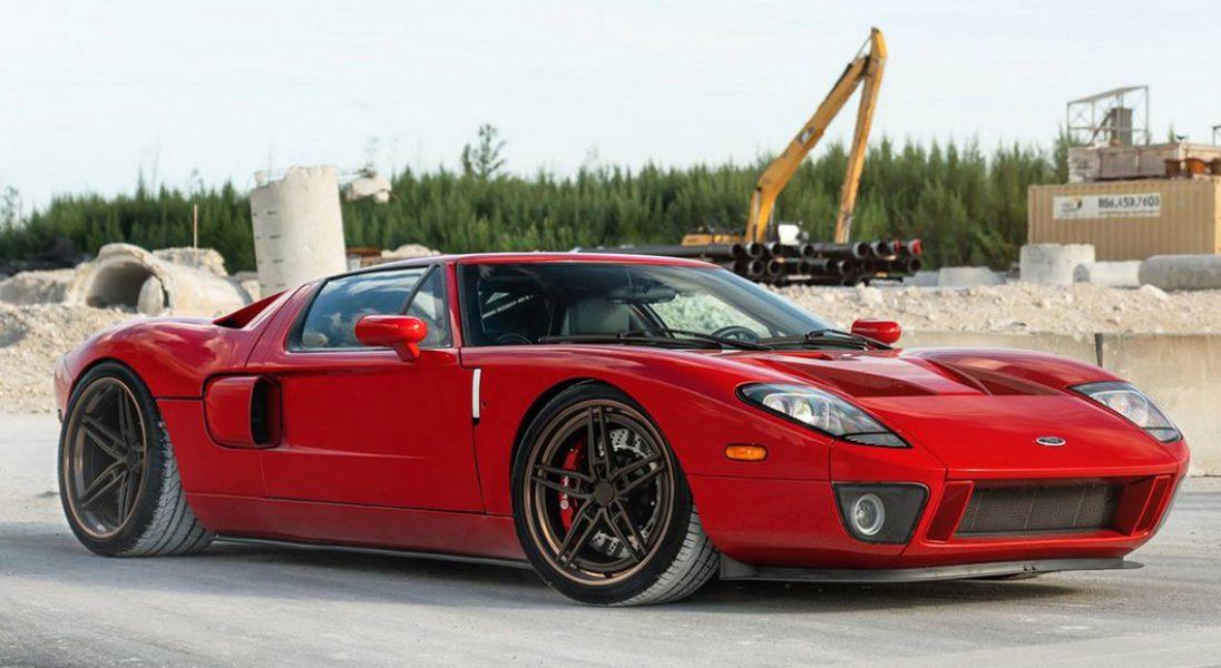 Stuningowany Ford GT z silnikiem o mocy 2000 KM