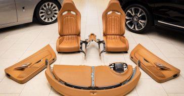 Nietypowa aukcja, na której za 150 tys. dolarów można kupić wnętrze z Bugatti Veyron
