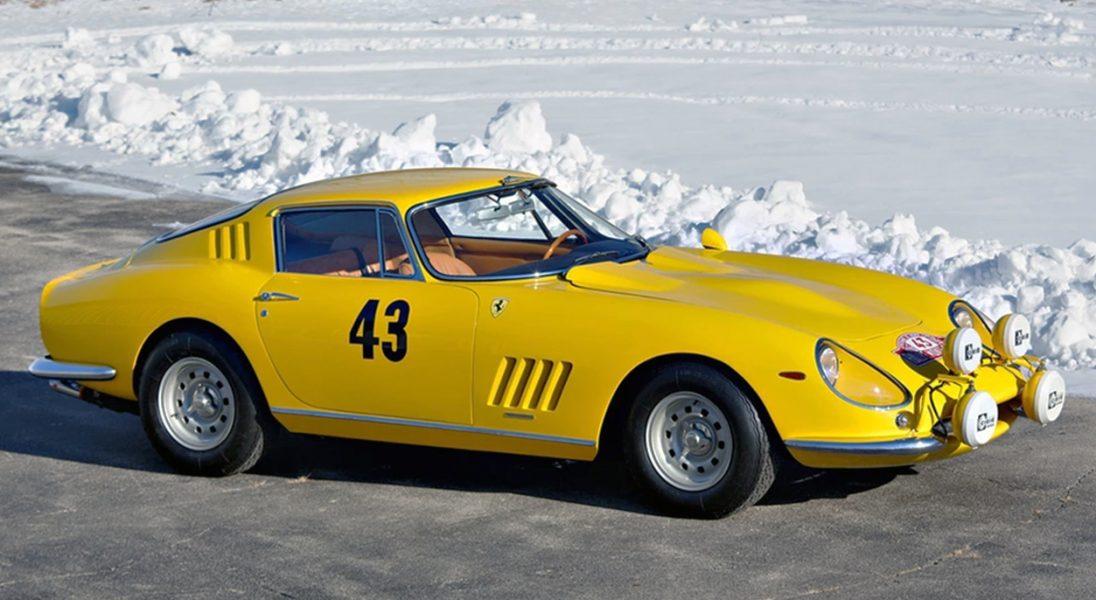 Na aukcję trafił prototyp Ferrari 275 GTB z 1964 roku