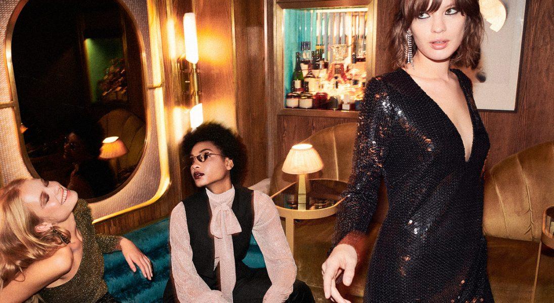 Klasyczna mała czarna, aksamit i cekiny. Reserved i brytyjski Vogue stworzyli kolekcję sylwestrową