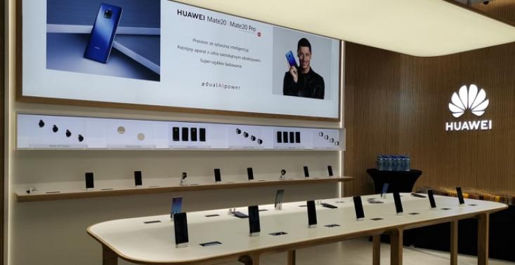 Huawei otworzy w Warszawie pierwszy  flagowy sklep w Europie Środkowo-Wschodniej<