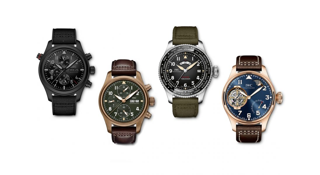 IWC Schaffhausen zaprezentowało cztery nowe wersje kultowego Pilot's Watch na 2019 rok