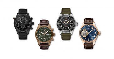 IWC Schaffhausen zaprezentowało cztery nowe wersje kultowego Pilots Watch na 2019 rok