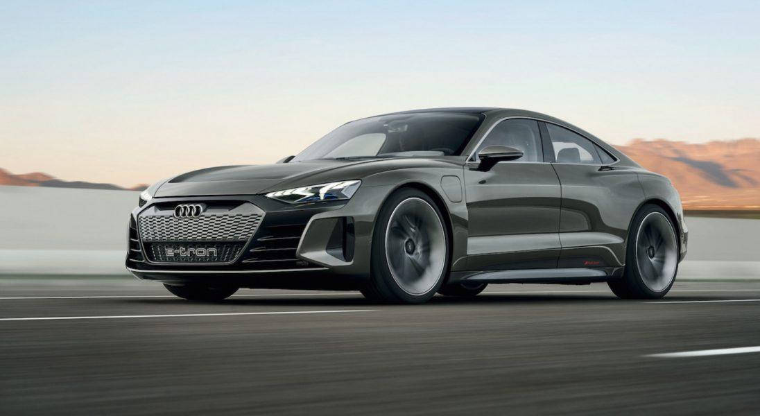 Koncept Audi E-Tron GT ma 590 KM i może poważnie zagrozić Tesli