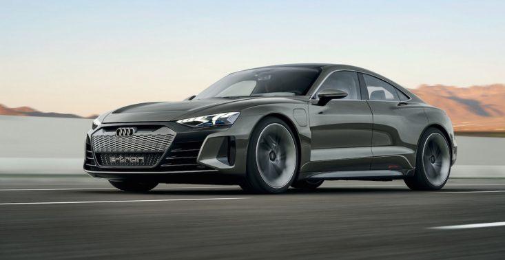 Koncept Audi E-Tron GT ma 590 KM i może poważnie zagrozić Tesli<