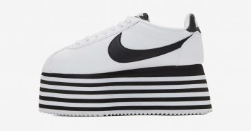 Marki COMME des GARÇONS i Nike wypuściły na rynek sneakersy na wielkiej platformie