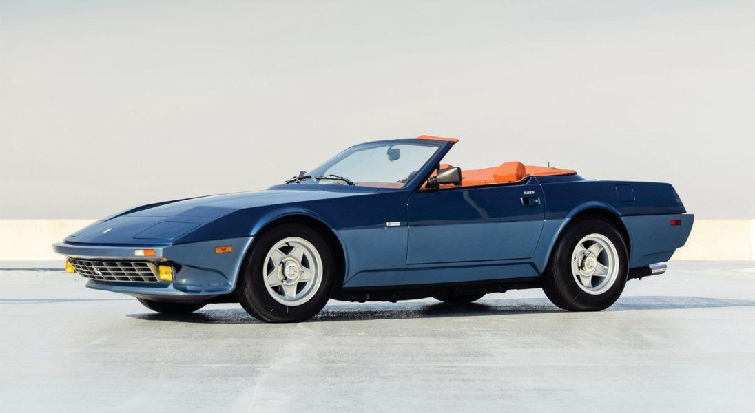 Niesamowicie rzadkie Ferrari 365 GTB/4 Daytona NART Spider z 1971 roku szuka nowego właściciela