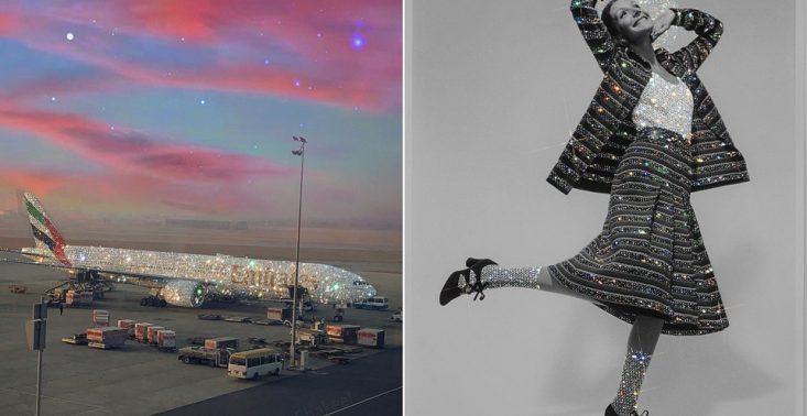 Sara Shakeel - to ona stoi za wiralowym zdjęciem brokatowego samolotu. Zobaczcie jej pozostałe prace<