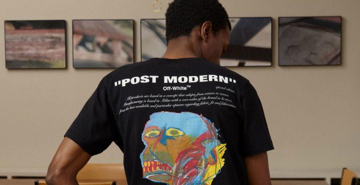 Nowa kolekcja Off-White&#039;a z motywami z obraz&oacute;w Basquiata<