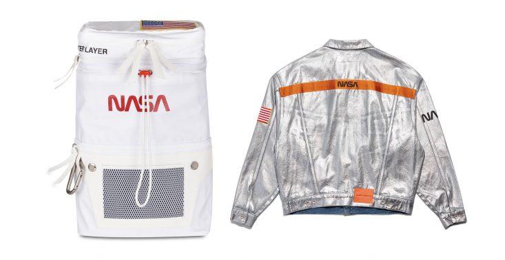 Heron Preston połączył siły z NASA i stworzył oryginalną kolekcję ubrań z logo agencji<