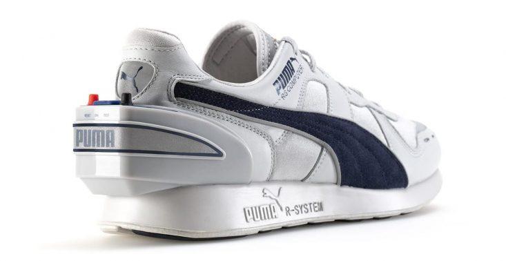 Puma przywraca swoje buty z komputerem na pięcie. Model pochodzi z 1986 roku<