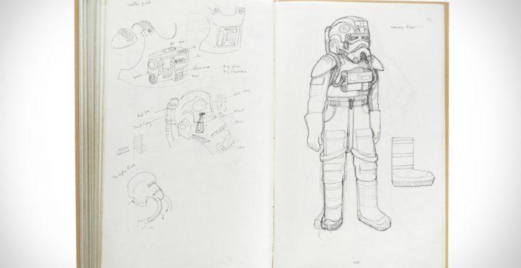 Notatnik z oryginalnymi szkicami kostium&oacute;w z &quot;Gwiezdnych Wojen&quot; może zostać sprzedany za 380 tysięcy dolar&oacute;w<