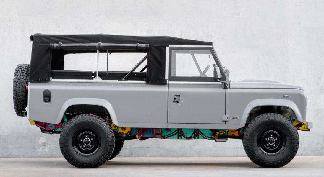 Land Rover Defender z 1983 roku zachwyca po renowacji w portugalskim warsztacie