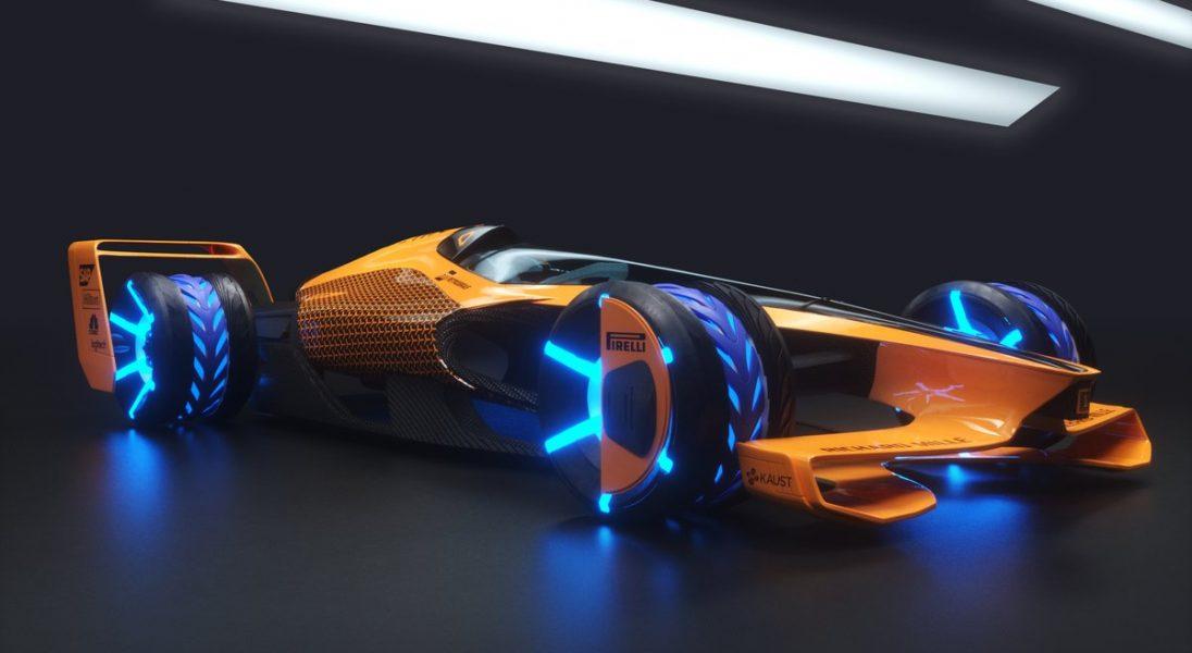 Tak wygląda bolid przyszłości według McLarena