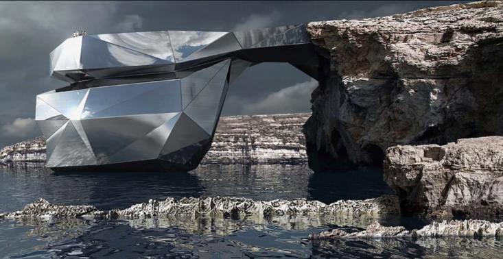 Słynne maltańskie Azure Window powr&oacute;ci? Niesamowity projekt architektoniczny<
