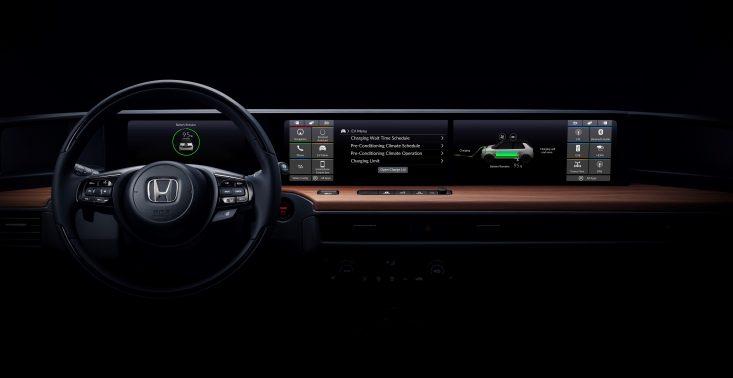 Tak będzie wyglądało wnętrze elektrycznego auta od Hondy<