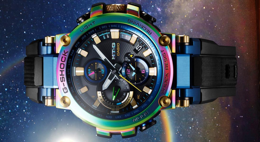 Nowy limitowany Casio G-SHOCK w kolorach tęczy