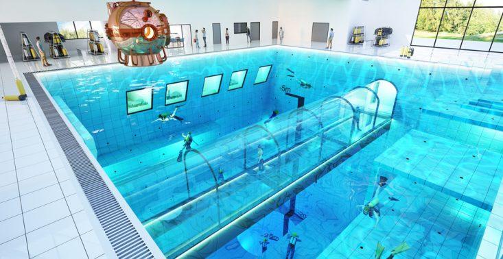 Deepspot &ndash; najgłębszy basen na świecie już niebawem w Polsce<