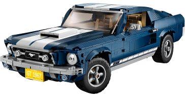 Kultowy amerykański Ford Mustang doczekał sięswojej wersji z klocków LEGO