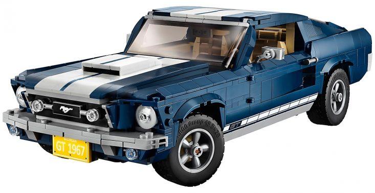 Kultowy amerykański Ford Mustang doczekał się&nbsp;swojej wersji z klock&oacute;w LEGO<
