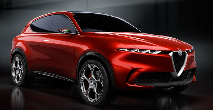 Alfa Romeo Tonale - prototyp hybrydowego SUV-a zaprezentowany w Genewie<