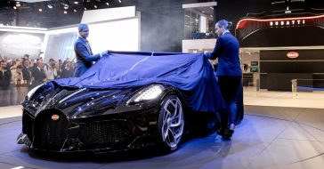 Oto najdroższe auto świata - Bugatti La Voiture Noire