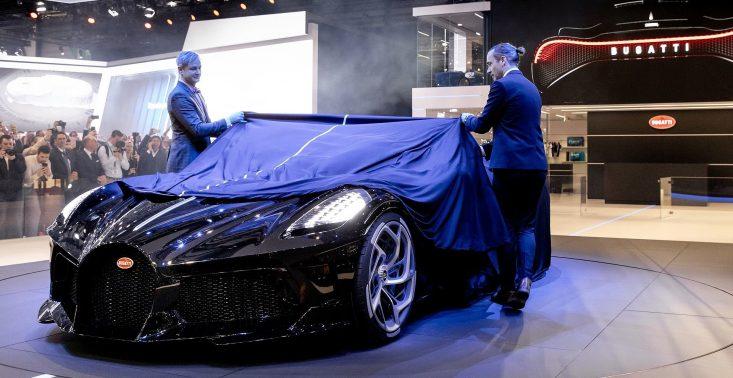 Oto najdroższe auto świata - Bugatti La Voiture Noire<