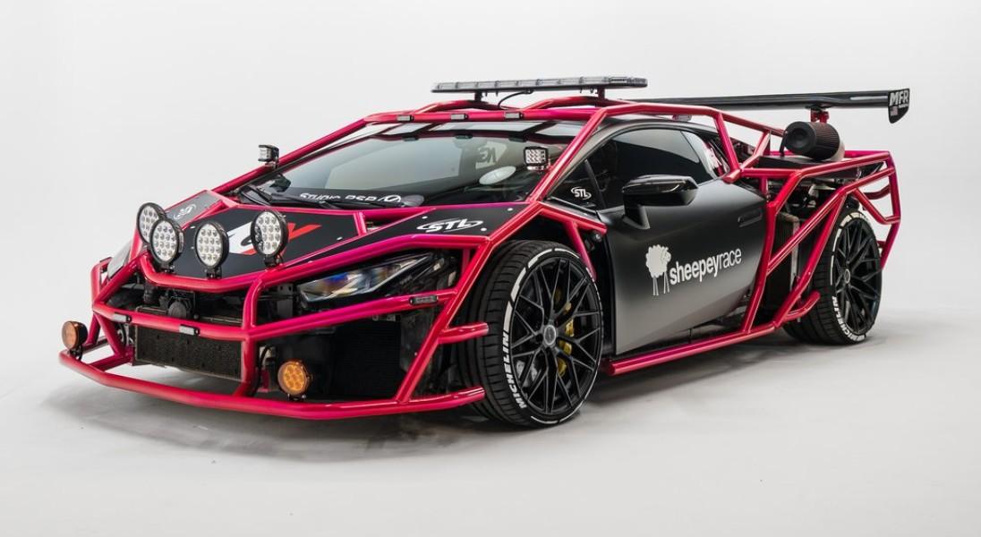 19-letni youtuber przemienił swoje Lamborghini Huracán w zwariowany pojazd przypominający gokarta