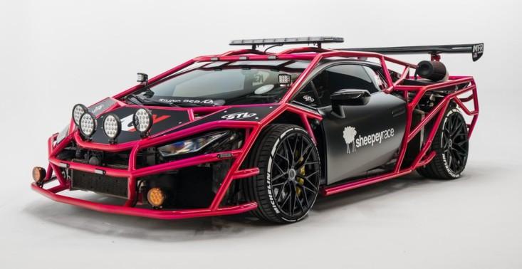 19-letni youtuber przemienił swoje Lamborghini Hurac&aacute;n w zwariowany pojazd przypominający gokarta<