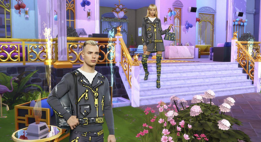 Moschino stworzyło kapsułową kolekcję inspirowaną grą The Sims