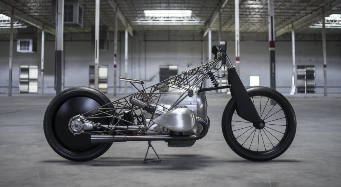 The Revival Birdcage – niepowtarzalny prototyp motocyklu BMW z tytanową ramą