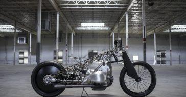 The Revival Birdcage – niepowtarzalny prototyp motocyklu z tytanową ramą