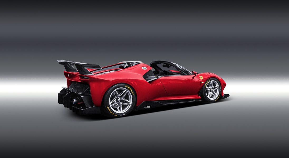 Ferrari P80/C w wersji Spider wyglądałoby obłędnie