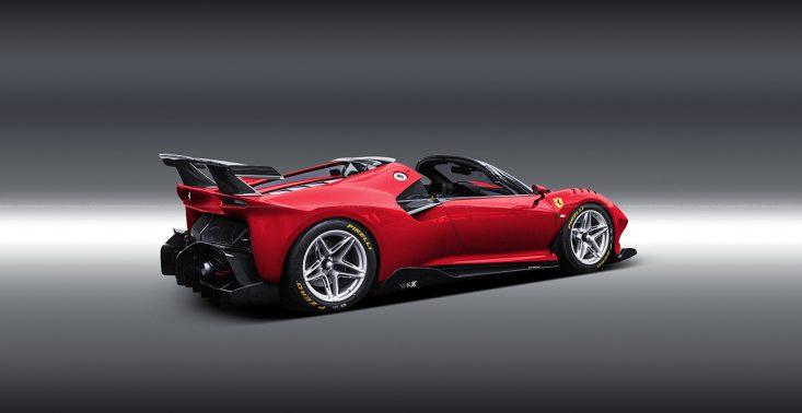 Ferrari P80/C w wersji Spider wyglądałoby obłędnie<