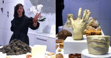 Nowojorska influencerka stworzyła niezwykłą wystawę z jedzenia podczas Milan Design Week