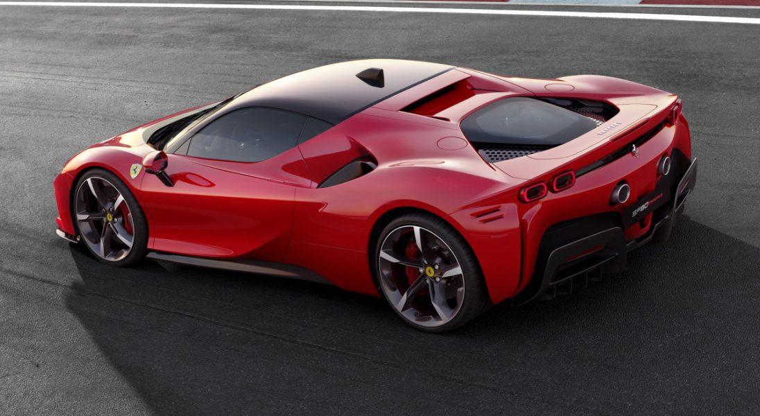 Ferrari zaprezentowało swoją nową, supermocną hybrydę – SF90 Stradale