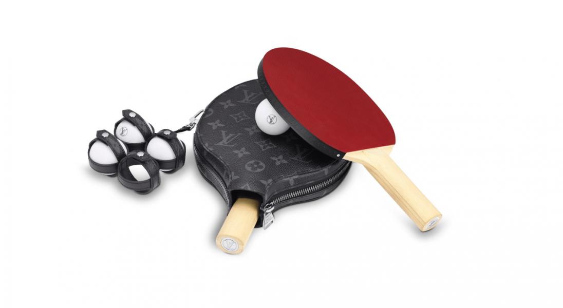 Dom mody Louis Vuitton stworzył ekskluzywny zestaw do ping-ponga
