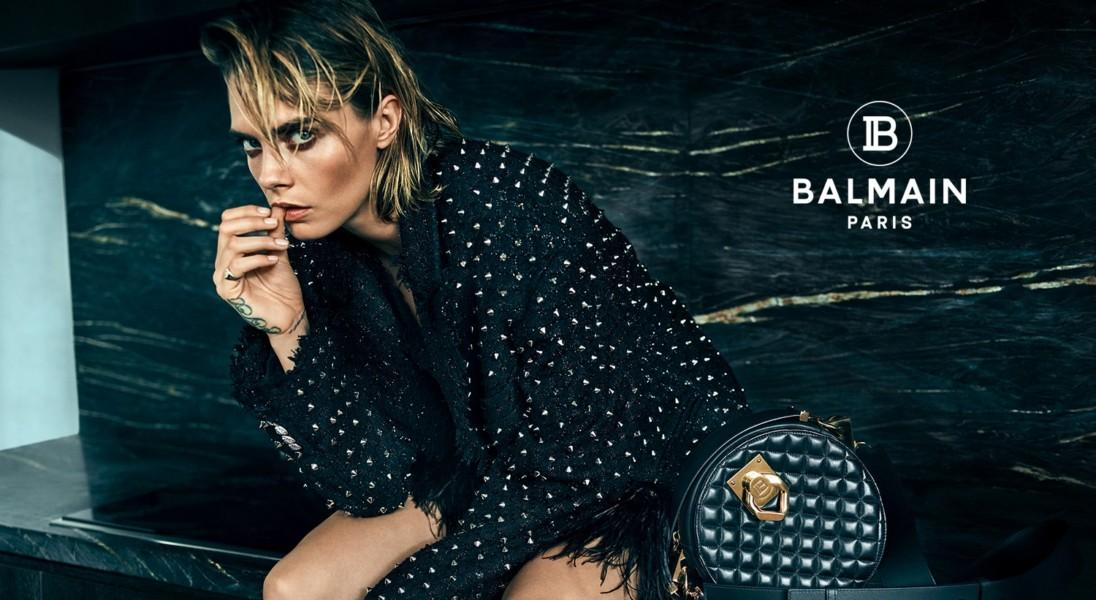 Sonia Szóstak sfotografowała najnowszą kampanię marki Balmain