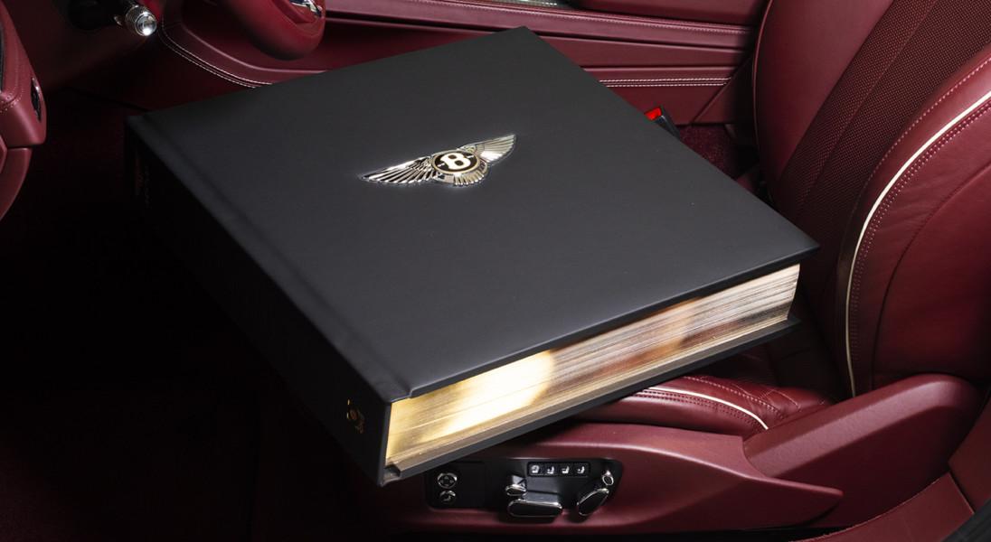 Z okazji 100. urodzin Bentley wypuścił księgę ważącą ponad 30 kg